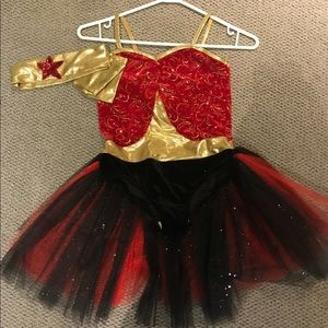 Other - Superhero costume with velvet and a tulle tutu
